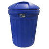United Solutions 32-Gallon Blue Indoor/Outdoor Garbage Can