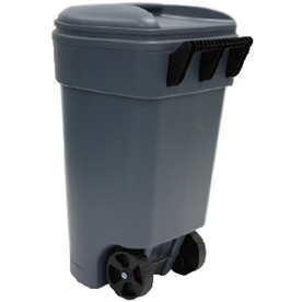 United Solutions 50-Gallon Outdoor Garbage Can