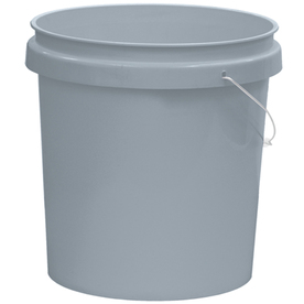 Shop united solutions 5 gallon plastic paint bucket at for 5 gallon bucket of paint price