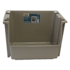 United Solutions 16-in W x 12-in H Bronze Plastic Bin