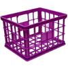 United Solutions 17-in W x 14-in H x 11-in D Plastic Milk Crate