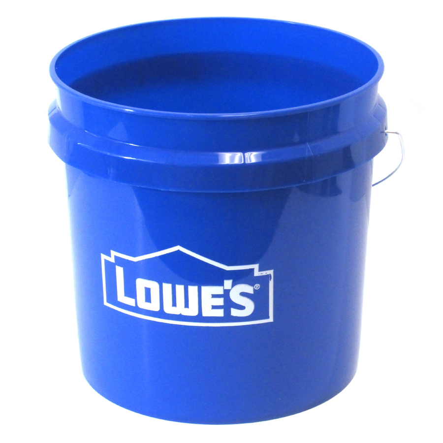 Shop united solutions 2 gallon plastic paint bucket at for 5 gallon bucket of paint price