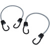 Secure Tite 2-Pack 2-ft Rubber Core Steel Hook Bungee Cords