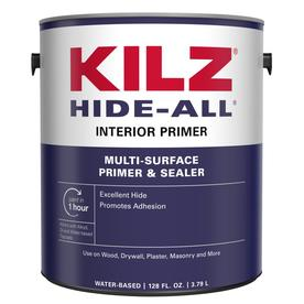 Shop Kilz Kilz Hide All Interior Latex Primer Actual Net Contents 128 Fl Oz At