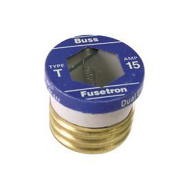 Cooper Bussmann 2-Pack 15-Amp Time Delay Plug Fuse