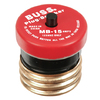 Cooper Bussmann 15-Amp Fast Acting Plug Fuse