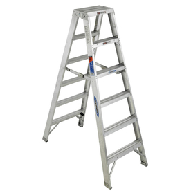 Werner 6-ft Aluminum Twin-Step Ladder