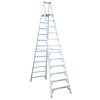 Werner 12-ft Aluminum Platform Ladder