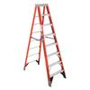 Werner 8-ft Fiberglass 375-lb Type IAA Step Ladder