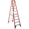 Werner 10-ft Fiberglass 375-lb Type IAA Step Ladder
