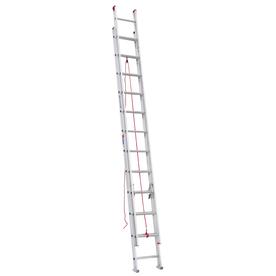 Werner 24-ft Aluminum 200-lb Type III Extension Ladder