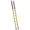Werner 10-ft Fiberglass 375-lb Type IAA Manhole Ladder