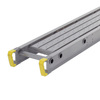Werner 12-ft x 4-in x 12-in Aluminum Scaffold Plank