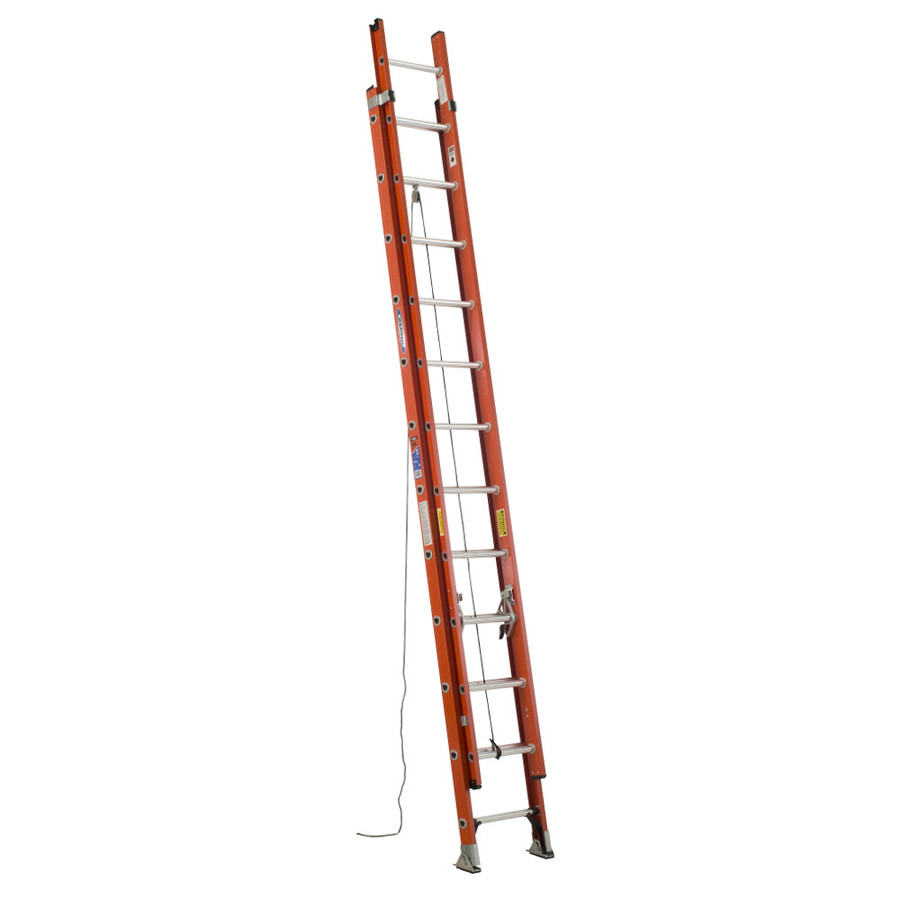 Werner 24 fiberglass extension ladder