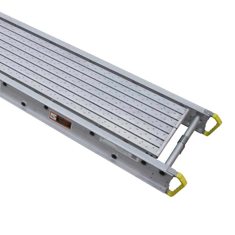 Aluminum Scaffold Work Platform : Shop werner ft in aluminum work platform at