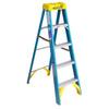Werner 5-ft Fiberglass 250-lb Type I Step Ladder