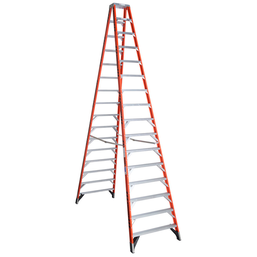 Werner ft. Aluminum Extension Ladder with 2lb. Load