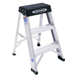 Werner 2-ft Aluminum 300-lb Type IA Step Ladder