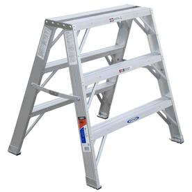 Werner 3-ft Aluminum Twin-Step Ladder