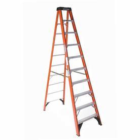 Werner 10-ft Fiberglass 300-lbs Type IA Step Ladder
