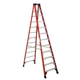 Werner 12-ft Fiberglass Step Ladder