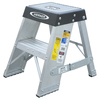 Werner 2-ft Aluminum 375-lb Type IAA Step Ladder