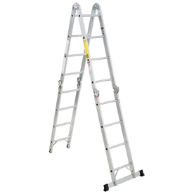 Werner 16-ft Aluminum 300-lb Type IA Multi-Position Ladder