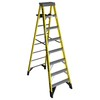 Werner 8-ft Fiberglass 375 Lbs. Type Iaa Step Ladder