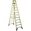 Werner 12-ft Fiberglass 375 Lbs. Type Iaa Step Ladder