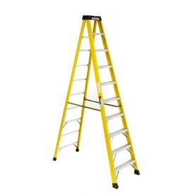 Werner 10 ft fiberglass 300 lb type ia step ladder 6110