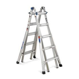 Werner 22-ft Aluminum Multi-Position Ladder