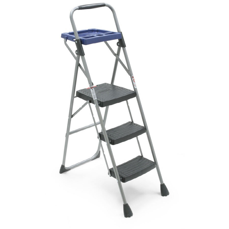 Shop Werner 3 Steel Step Stool At Lowes Com