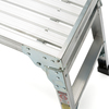 Werner 3.29-ft x 12-in x 20.56-in Aluminum Work Platform