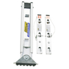 Werner Levelok Ladder Leveler with 2 Bases for Extension Ladders When Working On Uneven Ground