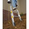 Werner 24-ft Aluminum 250-lb Type I Extension Ladder