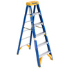 Werner 6-ft Fiberglass 375-lb Type IAA Step Ladder