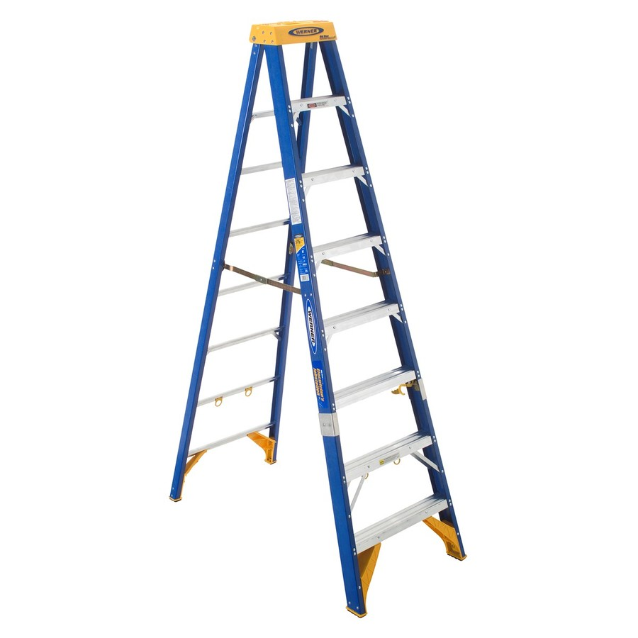 Ladders. Ladders provide the additional height you need for reaching gutters, ceilings, walls and other areas. There are different ladders that are suited for specific jobs and heights. Step ladders range from 4 feet to 16 feet tall. These folding ladders provide secure footing when working in hard-to-reach locations.