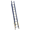 Werner 20-ft Fiberglass 300-lb Type IA Extension Ladder