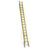 Werner 32-ft Fiberglass 375-lb Type IAA Extension Ladder