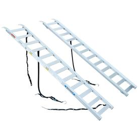Werner 1-1/4-ft x 6-1/8-ft 1300-lb Capacity Aluminum Loading Ramp