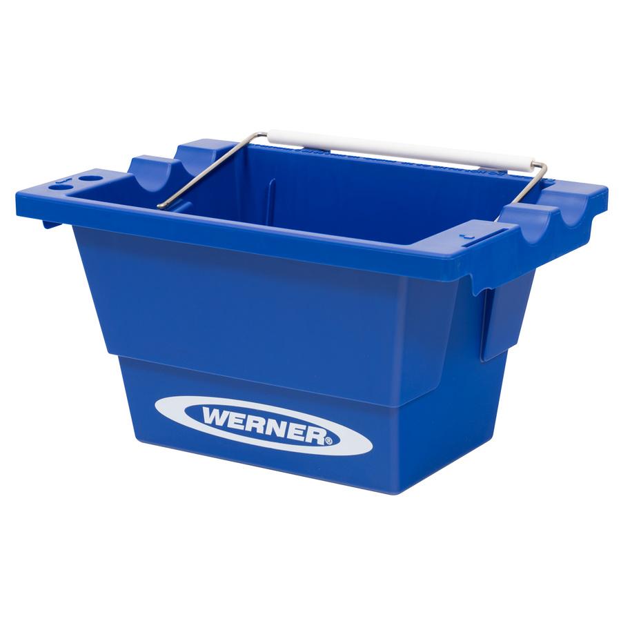 Shop werner step ladder job bucket at for Wallpaper tray home depot