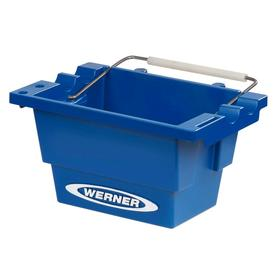 Werner Step Ladder Job Bucket