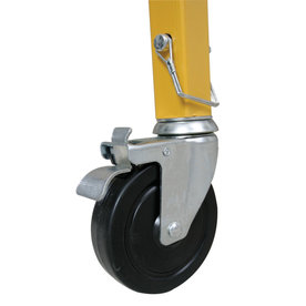 Shop werner casters for 6 ft steel scaffolding at - Bed casters lowes ...