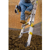 Werner 16-ft Aluminum 225-lb Telescoping Type II Extension Ladder