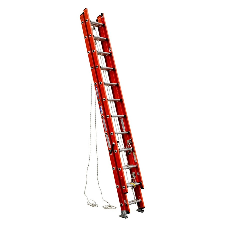 Werner Fiberglass Extension Ladder