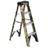 Werner FS104X9190 Camo 4-ft Fiberglass 250-lb Type I Step Ladder Deals