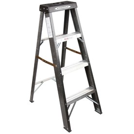 4-ft Fiberglass 225-lb II Step Ladder