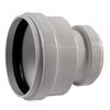 NDS 6-in x 4-in Dia PVC Sewer Drain Coupling