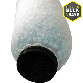 NDS 4-in x 10-ft Corrugated Drain with Filter Sock Pipe
