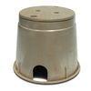 NDS 10.63-in L x 13-in W x 10.63-in H Round Irrigation Valve Box